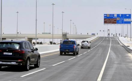 Ashghal opens new interchange on Al Khor Road
